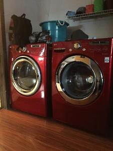 Front loading washer/dryer