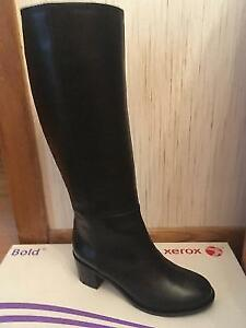 MaxMara Leather Boots - new in box from Italy