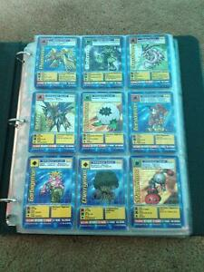 Digimon Digital Monsters Trading cards 1999 Bandai ~200 cards