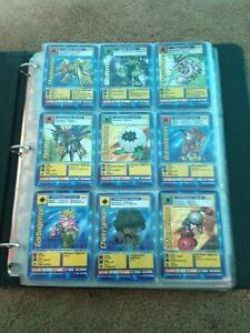 Digimon Digital Monsters Trading cards 1999 Bandai ~200 cards Cambridge Kitchener Area image 1