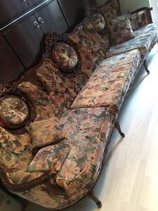 Louis XV style couches
