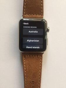 Apple watch 42 MM Stainless steel (Like new) with original box Perth Perth City Area Preview