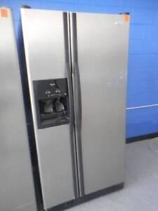 Second Hand Fridge / Freezer WHIRLPOOL 640 L,S/STEEL (MFF 033) Bundall Gold Coast City Preview