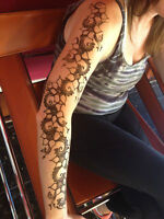 mehndi designs and temporary tattoo
