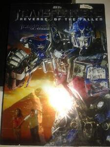 The Transformers Revenge of the Fallen DVD