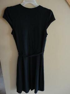 Women's Old Navy black jersey knit cap sleeve dress small NWT London Ontario image 6