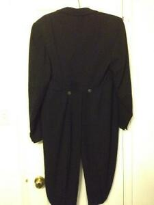 Mens tux jacket with tails - great for Halloween or any fun