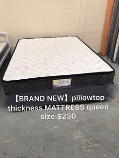 【BRAND NEW】pillowtop thickness mattress queen size $230