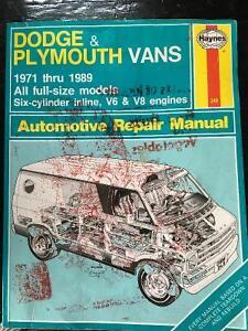 Haynes Dodge Plymouth Vans. Sarnia Sarnia Area image 1