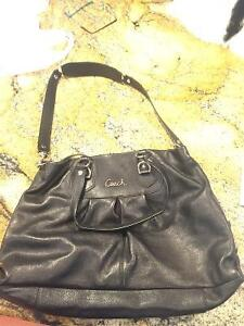 New Authentic Leather Coach Purse