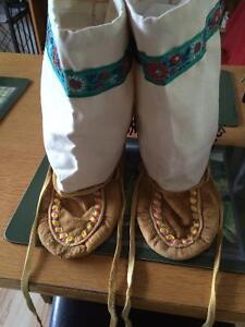 Moccasin, shoes and games for sale