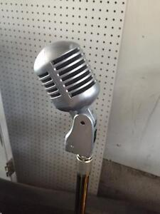 Nady PCM-200 Professional Microphone with stand and cord.