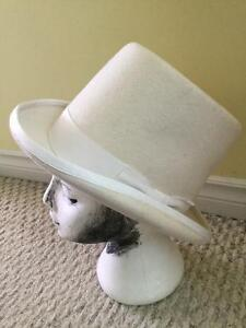 Supercraft Magill Hat MFG. White Top Hat