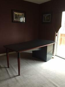 Reduced Price: Executive Desk - 6 ft (Charcoal Finish) Peterborough Peterborough Area image 5