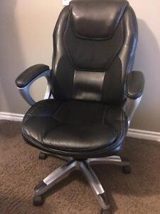 Ergo- Leather Office Chair