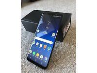 Samsung Galaxy S8 Black 64gb - 1 month old! Like brand new