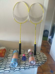 Badminton Racquets with shuttle cock set Spring Hill Brisbane North East Preview