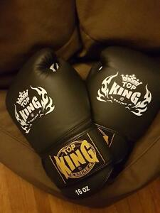 Boxing Gloves. Top King, 16oz. Used once.
