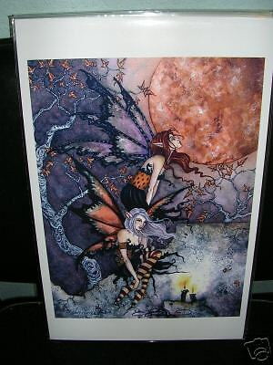 Amy Brown - Nightflyers- SIGNED - OUT OF PRINT