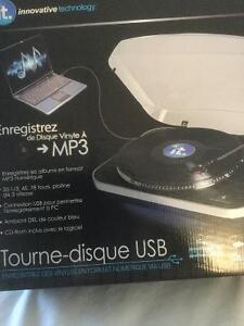 Tourne-disque USB neuf Gatineau Ottawa / Gatineau Area image 3