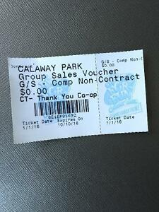 Calaway Park Ticket for sale