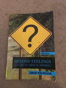 Beyond Feelings-A guide to Critical Thinking 9th Edition Kitchener / Waterloo Kitchener Area image 1