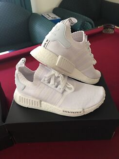 Adidas NMD_R1 PK Japan Boost White in size 7