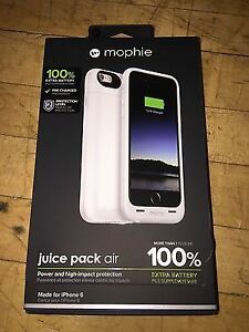 iPHONE 6 MOPHIE JUICE PACK AIR 100% , BLACK , WHITE , GOLD