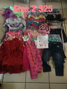 Size 2 girls clothing $25 the Cabramatta West Fairfield Area Preview