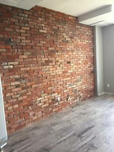 Old Loft Brick - 100 Year Old - Authentic Reclaimed Brick Cambridge Kitchener Area image 1