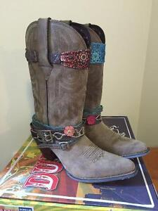 DURANGO- Crush- Cowboy Boots - Never Worn