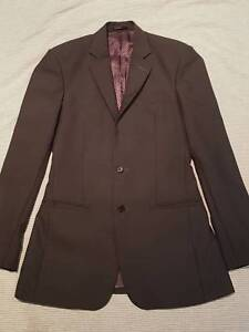 [AS NEW] Mens Suit 100% Wool - Charcoal Colour - Worn Once Oyster Bay Sutherland Area Preview