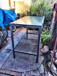 Ikea Stainless Steel UDDEN console/table