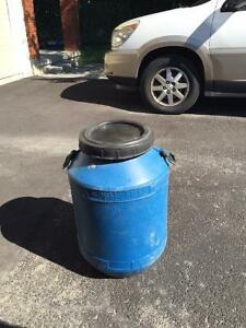 "Round RV Waste Barrel 24"" Tall by 16"" Wide"