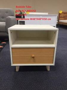 Brand New Bedside Table/Drawers/Cabinet Pirce from 69 to 109