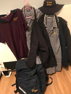 Varsity college uniforms