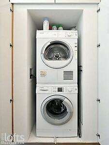 Bosch Stacked Washer and Dryer