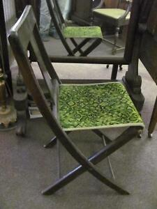 Victorian Theatre Folding Chairs