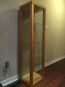 Reduced Price! Moving Sale! IKEA Display Cabinet