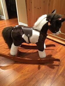 Beautiful rocking horse with sound effects