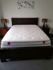 QUEEN SIZE BEDROOM SUITE - MATTRESS, BED FRAME AND TALLBOY. Somerville Mornington Peninsula Preview