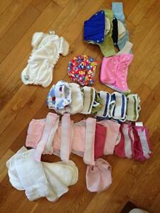 Diaper cloth and liner