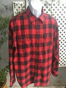 Roca wear red and black plaid long sleeve shirt