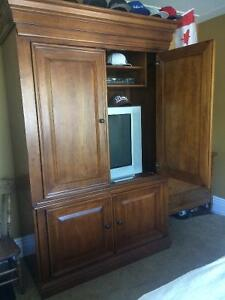HOOKER brand name furniture high-end TV cabinet or Armoire
