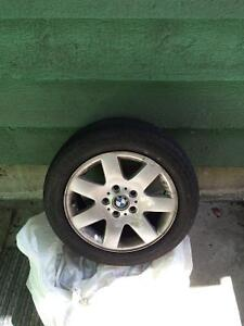 BMW e46 OEM rims with all seasons - $400obo