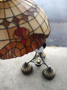 2 Tiffany Lamps One was own by Miller Family Antique