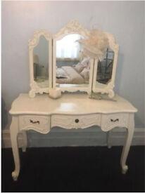 Beautiful cream dressing table