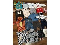 Huge baby boy clothes bundle