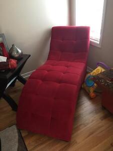 New Red Chair for sale- original price $350