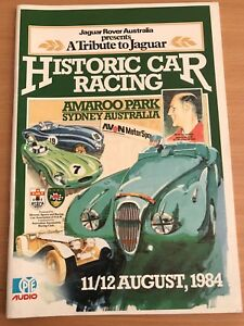 Historic Car Racing August 1984 edition Isaacs Woden Valley Preview